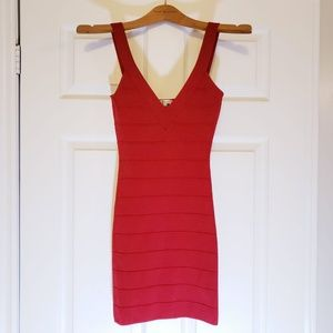 Dresses & Skirts - RED CLASSY SEXY BODYCON BANDAGE DRESS SMALL